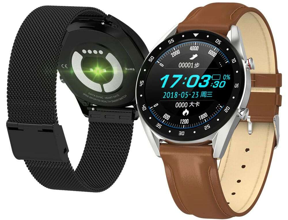 Back and Front of the Smartwatch